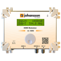 Johansson HDMI to DVB-C, DVB-T modulator 8202