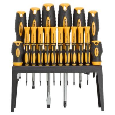 Handy tools 18 db-os csavarhúzó készlet tárolóval