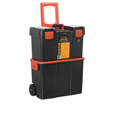 Handy tools Húzható, többrészes műanyag szerszámláda 18 col 460x260x625mm