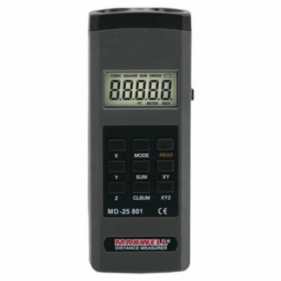 Maxwell Digitális távolságmérő