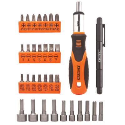 Handy tools 33 db-os racsnins csavarhúzó készlet