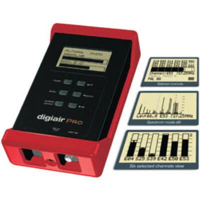 DigiAir Pro DVB-T jelszintmérő műszer