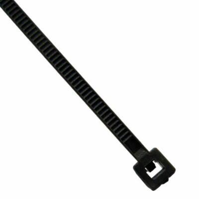 Vezeték kötegelő 200x5mm fekete