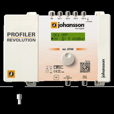 Johansson 6700 programozható antennaerősítő-szűrő