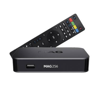 MAG 256 IPTV vevő