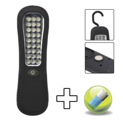 Stekklámpa 27 LED-del