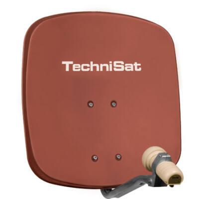 Technisat DigiDish 45 alu parabola antenna (téglavörös)