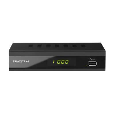 Triax TR 63 DVB-T2 HD FTA földi vevő