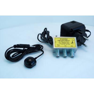 PMSW 400 DVB-T/CATV infra átkapcsoló+adapter