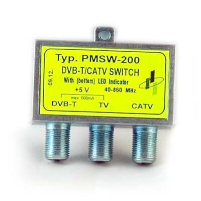 PMSW 210 DVB-T/CATV átkapcsoló DC blokkolt