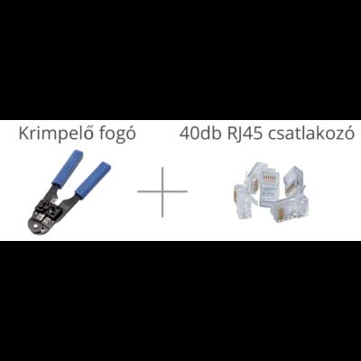 UTP krimpelő + ajándék 40db RJ45 dugó