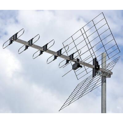 ISKRA DTX-22 UHF Yagi antenna 10-14 dBi