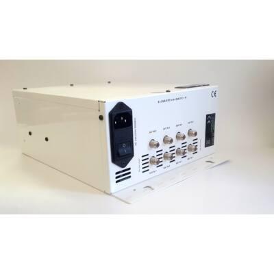 Aartech DGL-8500  FTA 8 x DVB-S2 to  4 x DVB-T/C/IP modulátor és streamer