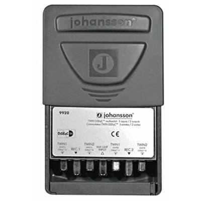 Johansson Twin Diseqc multiswitch 5/2